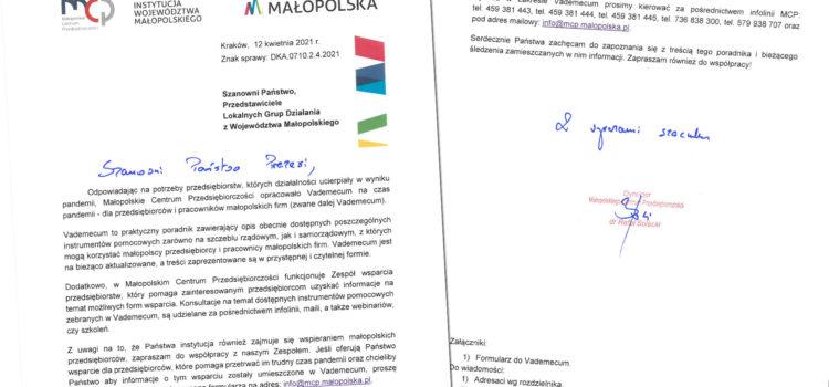 Webinarium dla małopolskich przedsiębiorców z branży turystycznej.