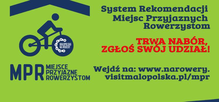 Organizator Systemu Rekomendacji Miejsc Przyjaznych Rowerzystom – Województwo Małopolskie